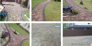 Укладка тротуарной плитки от обьем 50 м2 Осиповичи и район - Изображение #4, Объявление #1618077