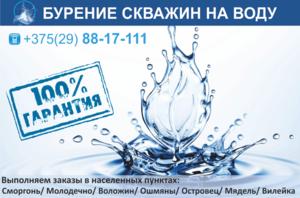 Бурение скважин на воду. Более 10 лет успешной работы. - Изображение #1, Объявление #1646739