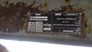 Полуприцеп платформа тентовая SAMRO - Изображение #6, Объявление #1653264